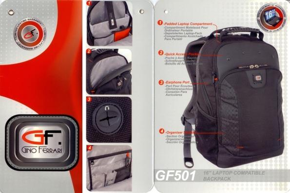 7b1c73b1377 Gino Ferrari Juno rugzak 16 inch € 49.90 voorraad: